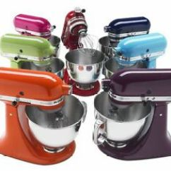Kitchen Aid 5 Qt Mixer Wall Mounted Shelves Kitchenaid Stand Tilt Rrk150 Refurb Of Ksm150ps Artisan Image Is Loading
