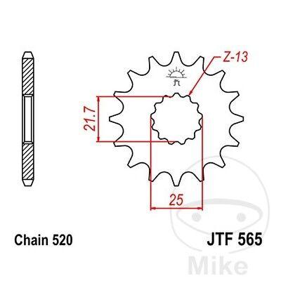 JT Front Sprocket Racing 13T 520 Pitch JTF565.13SC Suzuki