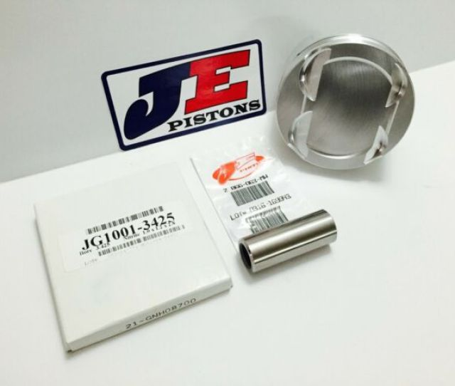 Je  11 Nitrous Dome Pistons For Chevy  385 Rod