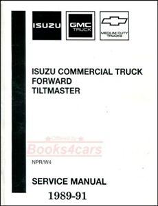SHOP MANUAL NPR SERVICE REPAIR ISUZU GMC 89-91 TRUCK