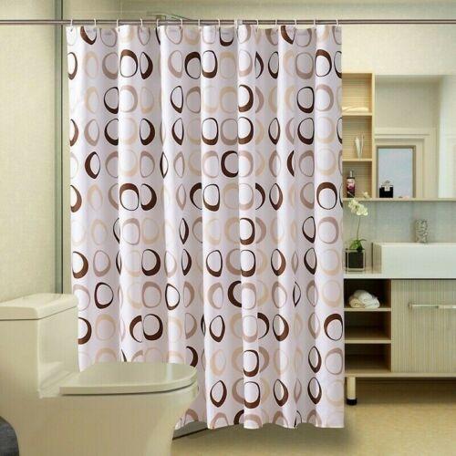 Relaxdays 10022611 tenda da doccia e vasca da bagno, stampa di albero,. Impermeabile Tenda Doccia Poliestere Tessuto Bagno Tende Stampo Prova Ganci Bath Shower Bathtub Accessories