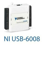 National Instruments USB-6008 Data Acquisition Card, NI