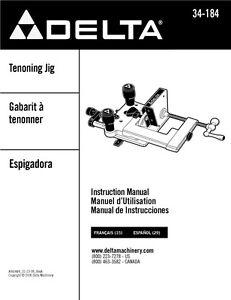 delta 34-184 universal tenoning jig manual