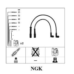 Ignition Wire Set Spark Plug Fiat Doblo Panda Punto 1,2
