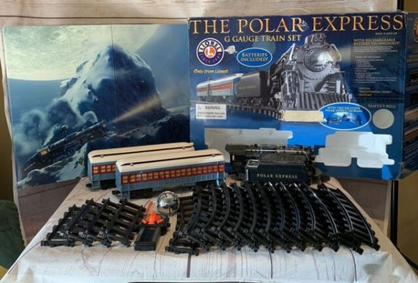 polar express lego train set # 57