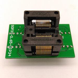 SSOP28 TSSOP28 To DIP28 Test Socket Adapter Pitch 065mm