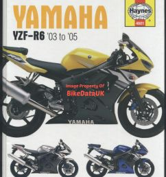 yamaha r6 03 05 5sl haynes maintenance workshop manual 4601 ebay yamaha rhino wiring diagram 03 yamaha r6 wiring diagram [ 1162 x 1600 Pixel ]