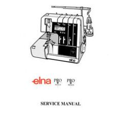 Elna Sewing Machine Parts Diagram Geyser Isolator Wiring Pro 904 Dcx 905 Service Manual On Cd Or Download Ebay Image Is Loading