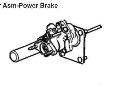 Genuine GM Hydro Brake Booster 19371364 AC Delco 178-1039