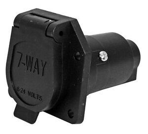 4 Way Trailer Plug Wiring Diagram Semi Truck Ford Gm 7 Pin Rv Plug Trailer Connector Truck Harness