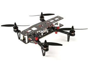 DYS 250 QUADCOPTER CARBON FIBER RACE DRONE W FOLDING ARMS