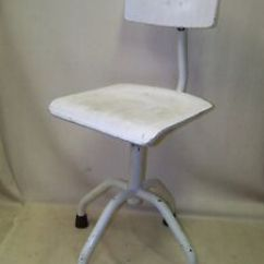 Bauhaus Swivel Chair High Banner Beautiful Age Doctor S Art Deco Vintage Design Image Is Loading