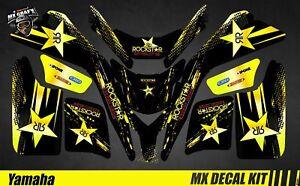 details sur kit deco quad pour atv decal kit for yamaha blaster 200 rockstar