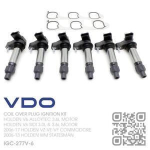 VDO COIL OVER PLUG IGNITION KIT V6 ALLOYTEC 3.6L [HOLDEN