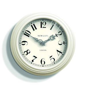 kitchen wall clocks remodel los angeles newgate clock classic cream the dormitory image is loading