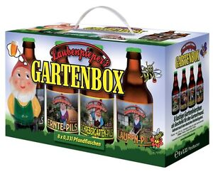Garten 8er Bier Box Laubenpieper Pils Geschenk Für Gärtner Freund
