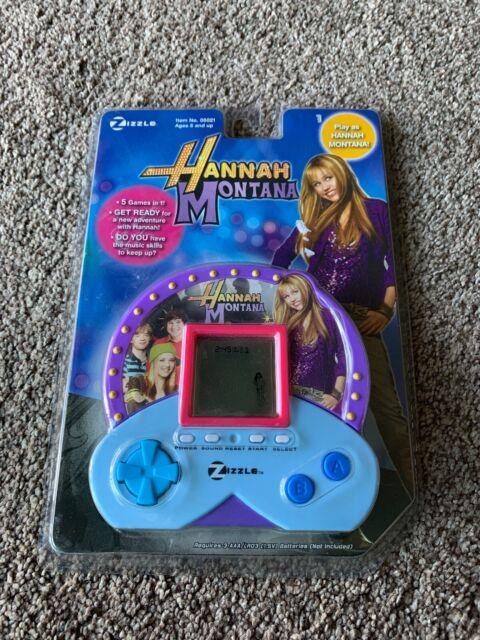 Hannah Montana Games Online : hannah, montana, games, online, Hannah, Montana, Zizzle, Handheld, Electronic, Online