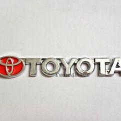 All New Camry Logo Perbedaan Kijang Innova G V Q For Toyota Red Emblem Badge Sticker Collora 4runner Jdm Image Is Loading