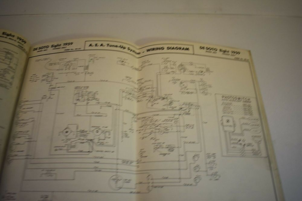 medium resolution of nice used a e a wiring diagram 1959 ford dodge desoto chrysler booklet usa am ebay