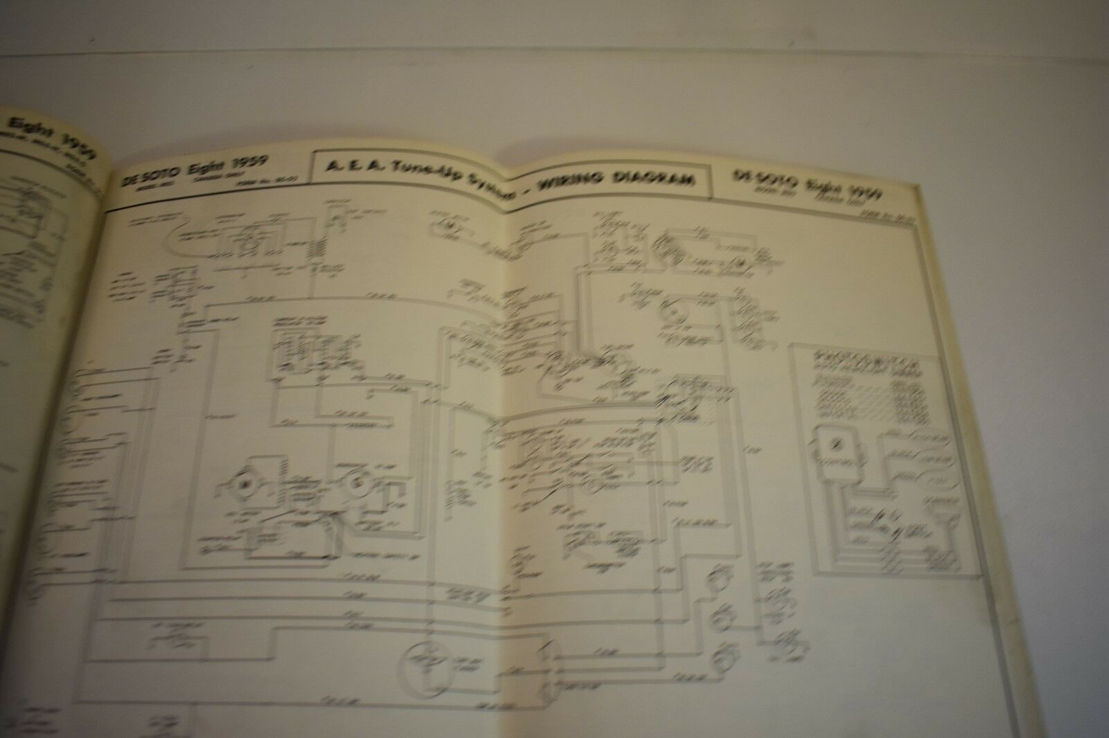 hight resolution of nice used a e a wiring diagram 1959 ford dodge desoto chrysler booklet usa am ebay