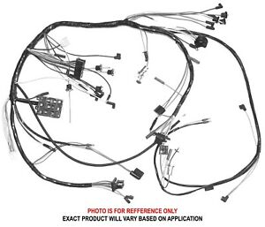 1965 FORD MUSTANG DASH WIRING HARNESS WITH LIGHTS & 2-SPD