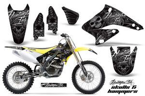 Dirt Bike Graphics Kit Decal Sticker Wrap For Suzuki