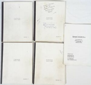 Lot (5) Vintage TV Case Histories Repair Guides