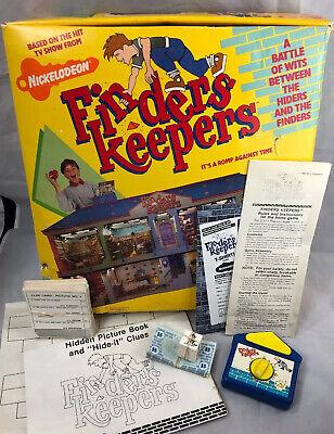 Finders Keepers Nickelodeon : finders, keepers, nickelodeon, Vintage, FINDERS, KEEPERS, Nickelodeon, Board