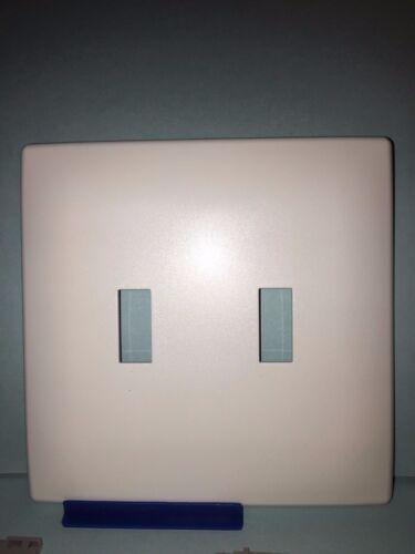 Screwless Switch Plates : screwless, switch, plates, Screwless, Decorator, Switch, Plate, Cover, Double, Sleek, White, Other, Improvement, Garden