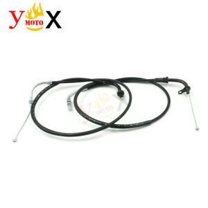 DS400 Pull Push Throttle Control Cable Wire For Yamaha V