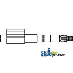 A-1698365M1 Massey Ferguson Parts PITMAN SHAFT STEERING LH