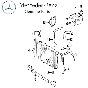 For Mercedes-Benz W124 E300 Radiator Genuine 124 500 23 02