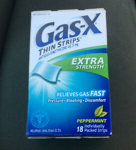 1 Gas-X Extra Strength Gas Relief Peppermint Thin 18 ...