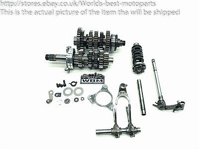 Triumph Street Triple 675 (2) 08' Engine Gearbox Assembly