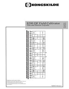 NEW HOLLAND 8200 Rear Hitch Light Kit SOIL TILLAGE