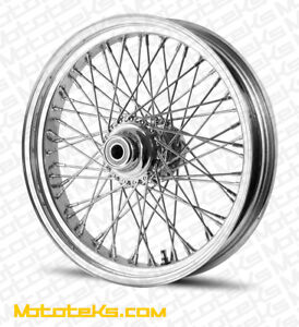 18X3.5 60 SPOKE FRONT WHEEL FOR HARLEY SOFTAIL FATBOY