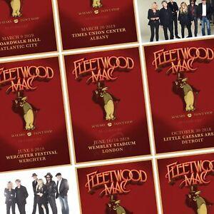 details about fleetwood mac an evening with 2018 2019 world tour photo print poster uk us eu