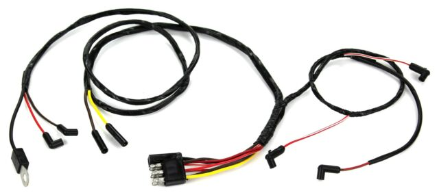 Mustang Engine Gauge Feed Wiring Six Cylinder With Gauges