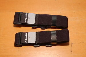 Lot of 2 POLAR HEART RATE MONITOR Replacement Back STRAPS ...