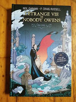 L'étrange Vie De Nobody Owens : l'étrange, nobody, owens, Strange, Nobody, Owens, T1-neil, Gaiman/p., Graig, Russell