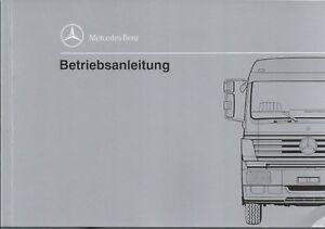 Bedienungsanleitung Mercedes Lkw