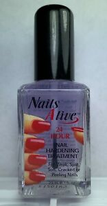 24 Hour Nails : nails, Nails, Alive, Hardener, 1.19oz, Split, Cracked, Peeling, 885604263934