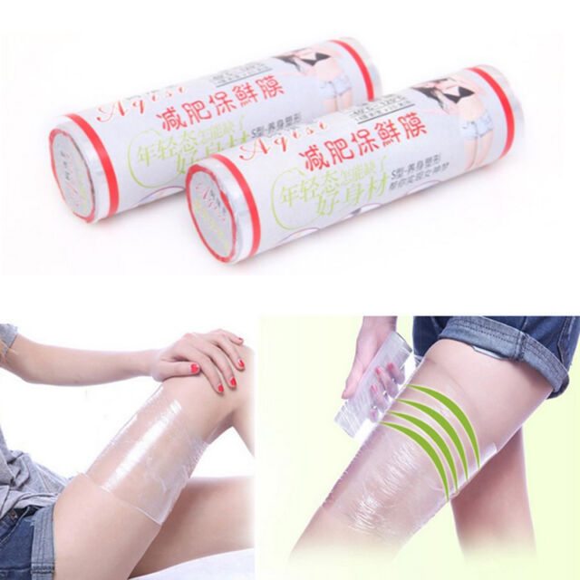 1 Roll Body Plastic Wrap Paper Cellulite Waist Burning ...