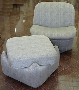 swivel club chair with ottoman bar table height high slipper lounge by directional manner image is loading