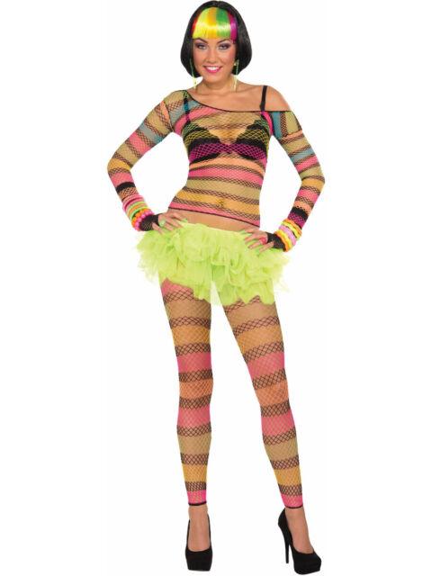 Fishnet Costume : fishnet, costume, Adult, Candy, Rainbow, Fishnet, Costume, Pantyhose, Online
