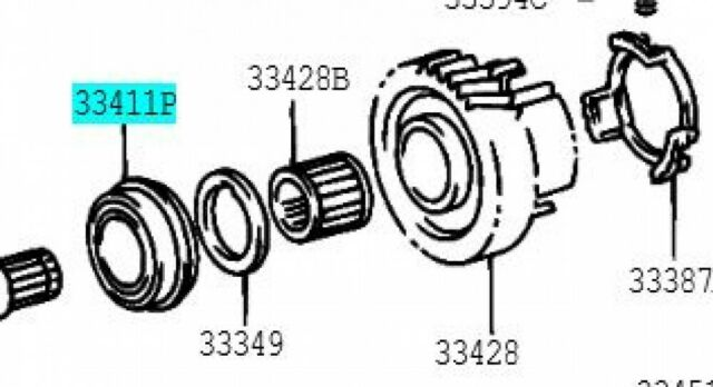 TOYOTA 90365-34005 Counter Gear Rear Bearing or Roller