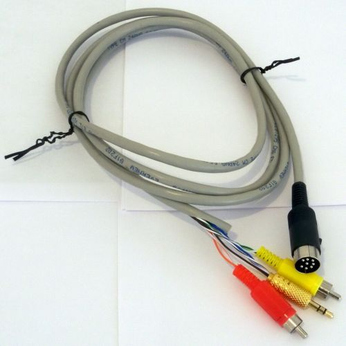 small resolution of diy 8 pin din cable for bose acoustimass am9p lifestyle 12 25 3 5 8 cs6 for sale online ebay