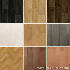 Kitchen Floor Lino Design For A Small Space New Wood Plank Vinyl Flooring Roll Quality Anti-slip ...