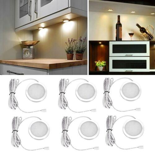 lighting 3 6x under cabinet lighting kit led kitchen counter closet puck light w remote globalgym parsberg com