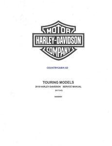 2018 Harley Davidson Road King FLHR FLHRC FLHRXS Service